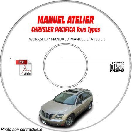 PACIFICA 2004 Manuel Atelier CDROM CHRYSLER Anglais