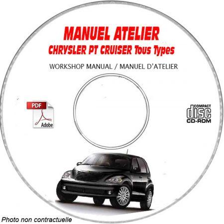 CHRYSLER PT CRUISER Manuel d'Atelier sur CD-ROM anglais