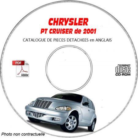 PT CRUISER 2001 Manuel Atelier CDROM CHRYSLER Anglais