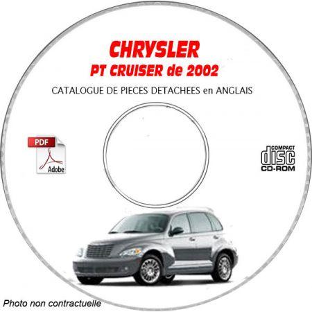 PT CRUISER 2002 Manuel Atelier CDROM CHRYSLER Anglais