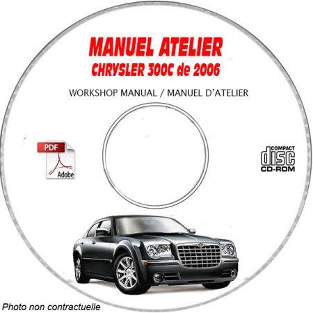 300C 2006 Manuel Atelier CDROM CHRYSLER Anglais