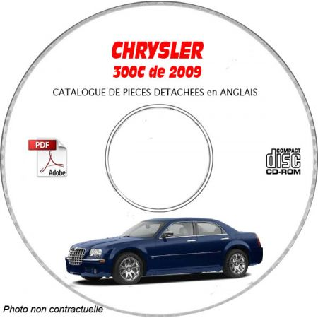 300C 09 - Catalogue Pieces CDROM CHRYSLER Anglais