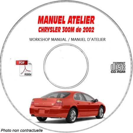 300M 02 - Manuel Atelier CDROM CHRYSLER Anglais