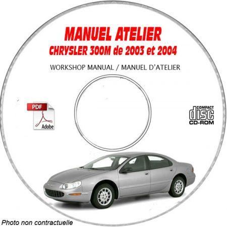 CHRYSLER 300M de 1997 à 1999 CONCORDE / LHS Type : LH Catalogue des Pièces Détachées sur CD-ROM