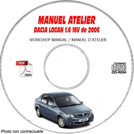 LOGAN 06 Manuel Atelier CDROM DACIA Revue technique