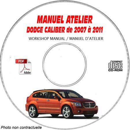CALIBER 07-11 Manuel Atelier CDROM DODGE Anglais