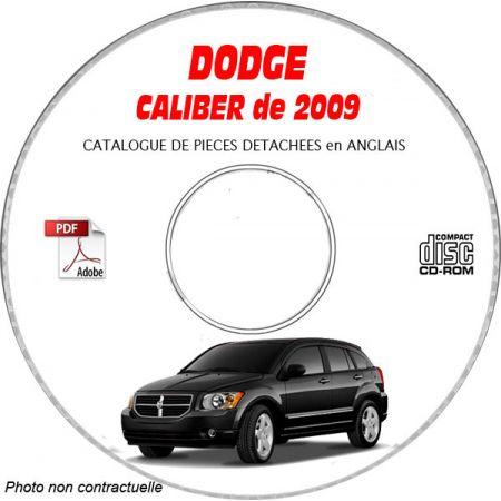 CALIBER 2009 Manuel Atelier CDROM DODGE Anglais