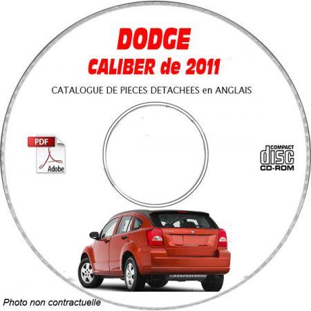 CALIBER 2011 Manuel Atelier CDROM DODGE Anglais