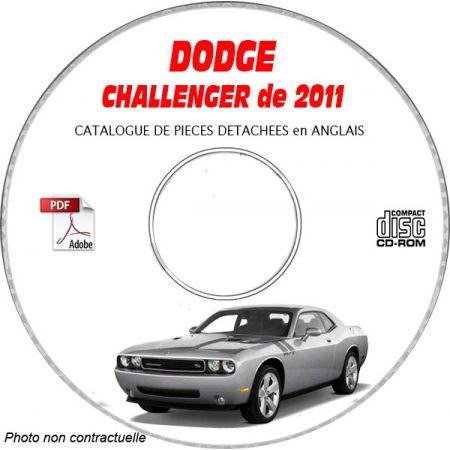 CHALLENGER 11 Catalogue Pièces CDROM DODGE Anglais