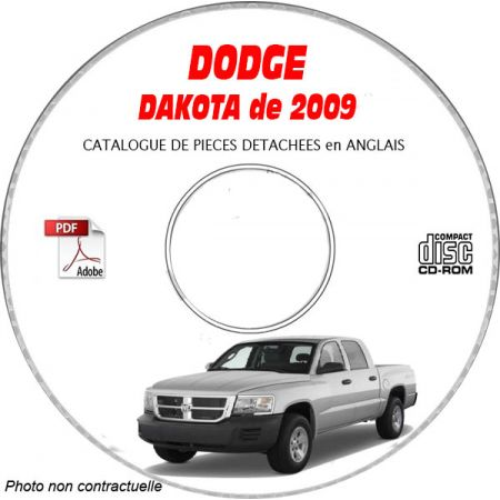DAKOTA 09 Catalogue Pièces CDROM DODGE Anglais