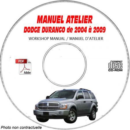 DURANGO 04-09Manuel Atelier CDROM DODGE Anglais