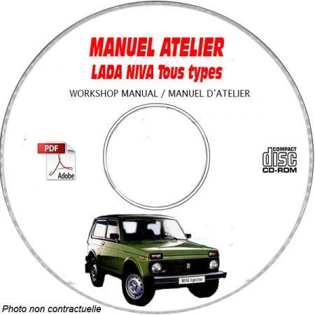 LADA NIVA Manuel d'Atelier sur CD-ROM FR