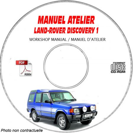 LAND-ROVER DISCOVERY Série 1 Manuel d'Atelier sur CD-ROM FR