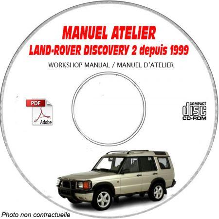 LAND-ROVER DISCOVERY 2 depuis 1999 Manuel d'Atelier sur CD-ROM FR