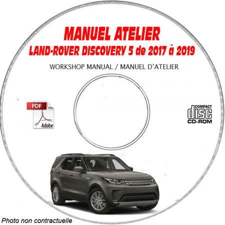 LAND-ROVER DISCOVERY 5 de 2017 à 2019 Type : L462 Manuel Atelier sur CD-ROM Italien