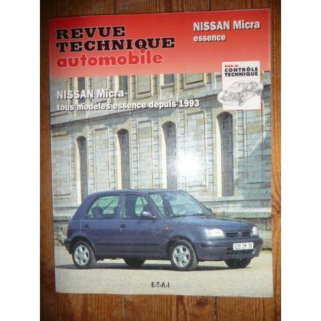 Micra Ess 93- Revue Technique Nissan