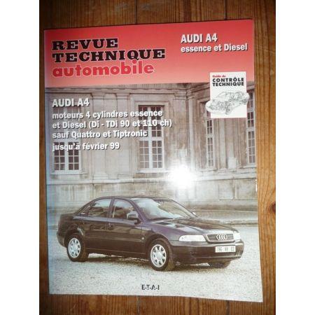 A4 -99 Revue Technique Audi