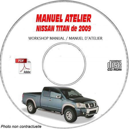 TITAN 09 - Manuel Atelier CDROM NISSAN Anglais
