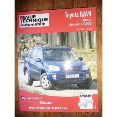 RAV 4 00- Revue Technique Toyota