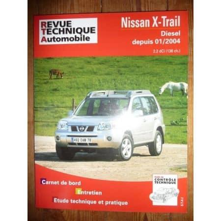 X-Trail 04- Revue Technique Nissan