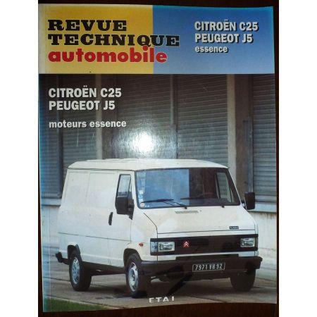 revue technique CITROEN C25 et PEUGEOT J5 Essence RRTA0494.3
