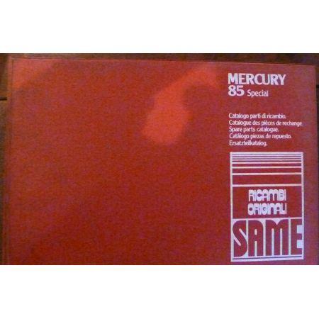 MERCURY 85 - Catalogue pieces Same