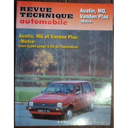 Metro - Revue Technique Austin Mini Mg British Leyland