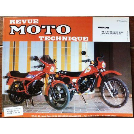 HONDA 80cc MB , MT de 1980 à 1982 HONDA 80cc MTX de 1983 à 1986