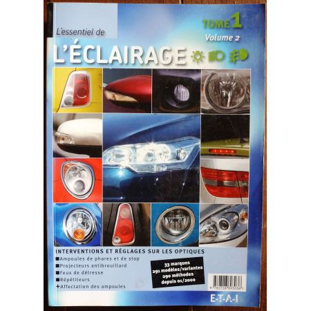Essentiel de l'éclairage : 33 marques - 291 modèles Tome 1 - Volume 2 MA-ECLAIR-T1V2