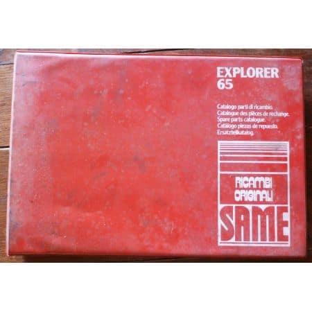 SAME EXPLORER 65 Catalogue pièces détachées Multi-langue