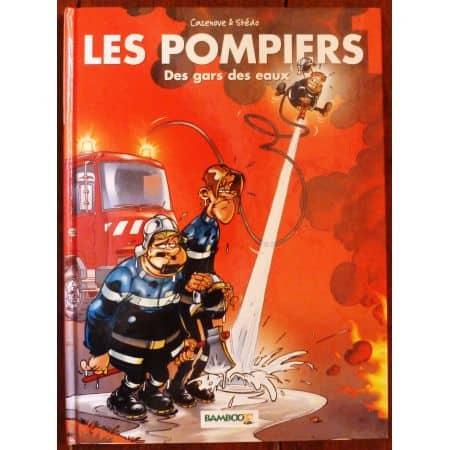 Les Pompiers - Tome 1  Bande dessinée  LIVR_POMPIERS-T1 -  Livre enfant