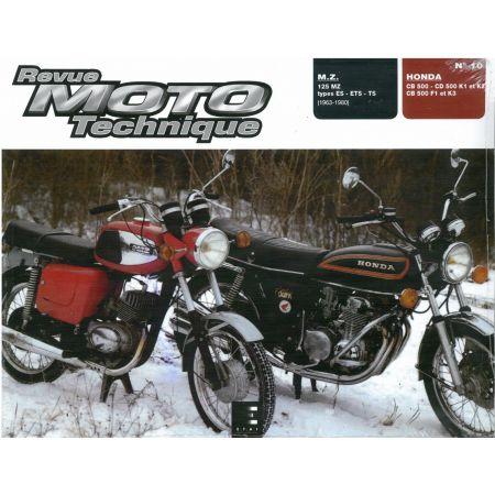 CB500 FOUR 125ES,ETS,TS Revue Technique moto Honda Mz