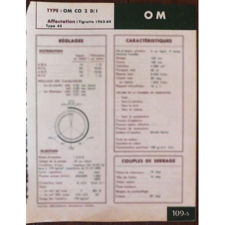 CO2 D/I - Fiche Technique Om