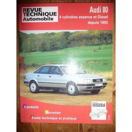 80 92- Revue Technique Audi