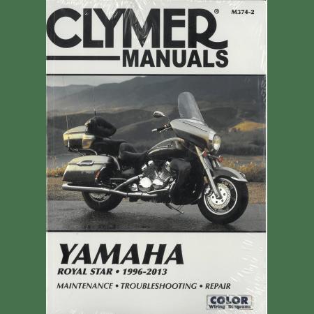 Royal Star 96-10 Revue technique Clymer YAMAHA Anglais