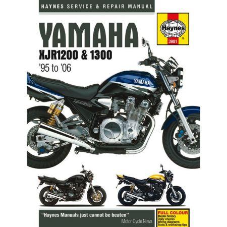 XJR1200 - XJR1300 95-06 Revue technique Haynes YAMAHA Anglais