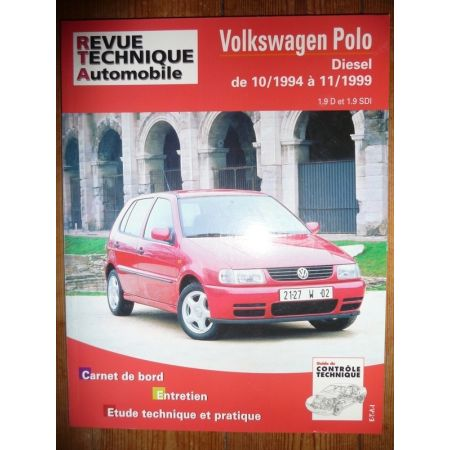 Polo D 94-99 Revue Technique Volkswagen