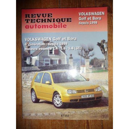 Golf IV Bora 98- Revue Technique Volkswagen