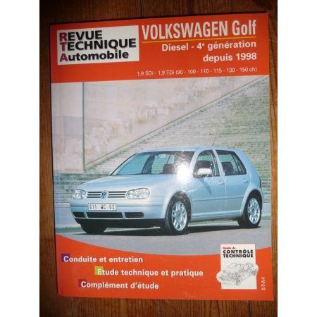Golf IV Die 98- Revue Technique Volkswagen
