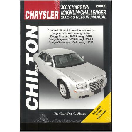 300 Charger Magnum 05-10 Revue Technique Haynes Chilton CHRYSLER Anglais
