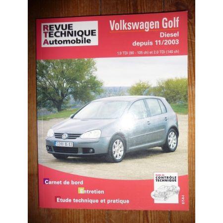 Golf 03- Revue Technique Volkswagen