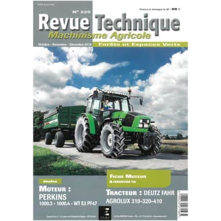 5115 Revue Technique Agricole Deutz-Fahr