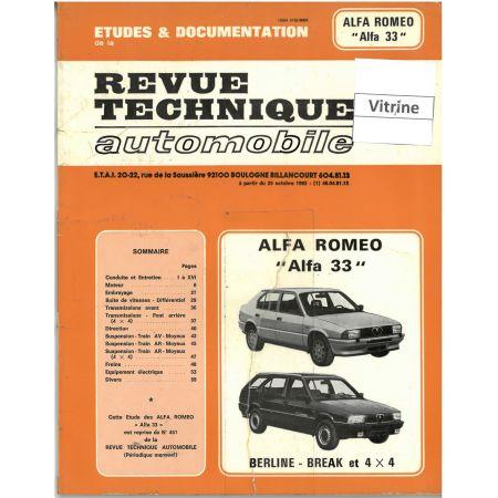 33 85-89 Revue Technique Alfa Romeo