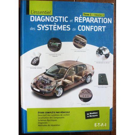 Diagnostics et réparation des systèmes de confort LIVR-DIAG-CONF