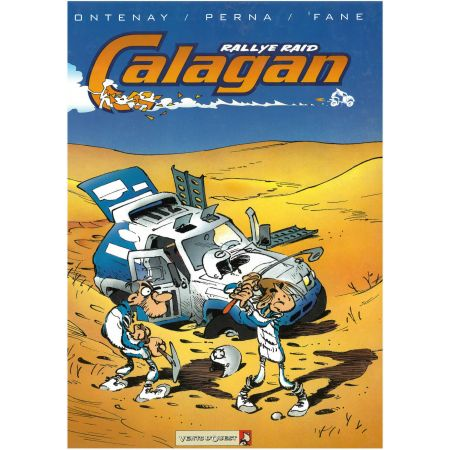 Rallye Raid Calagan - Livre BD