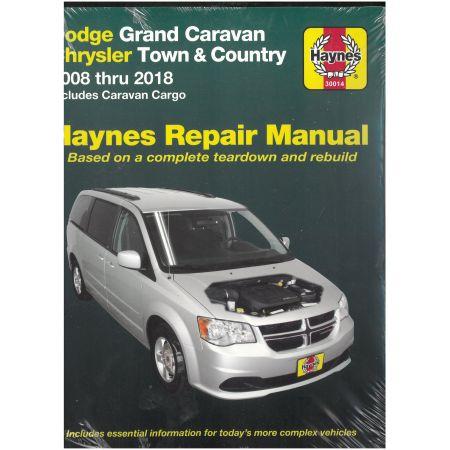 Grand Caravan 08-12 Revue technique Haynes DODGE CHRYSLER Anglais