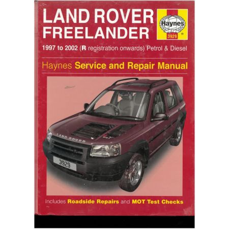 LAND ROVER DEFENDER RESTORATION Revue Technique Haynes LAND ROVER Anglais