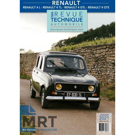R4 GTL R1128 Revue Technique Renault