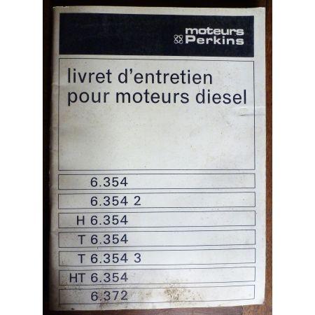 Moteurs Diesel 6.354 - 6.372 PERKINS  ME-PERK-DIES - Manuel entretien
