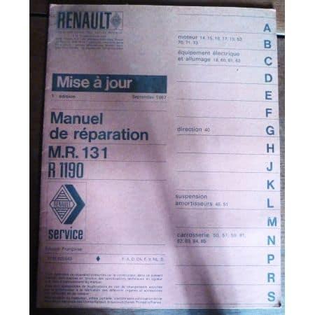 RENAULT MR 131  R1190  MR-REN-MR131- Manuel entretien